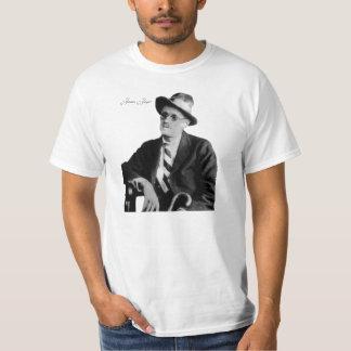 Imagen irlandesa del poeta para la camiseta remera
