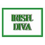Imagen irlandesa del texto de la diva