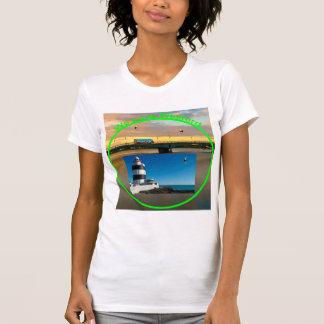 Imagen irlandesa para la camiseta de las mujeres