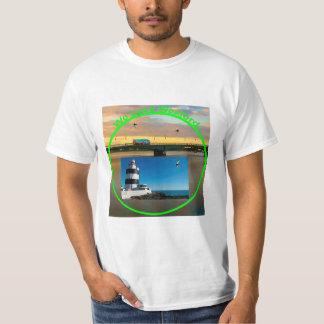 Imagen irlandesa para la Hombre-t-camisa Playera