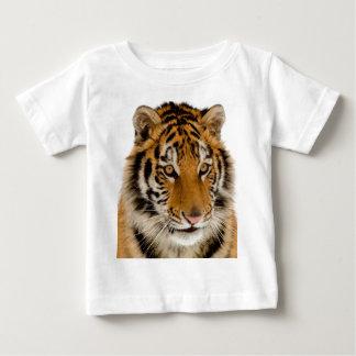 Imagen joven linda del tigre playeras