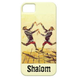 Imagen judía del vintage iPhone 5 protectores
