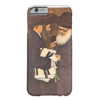 Imagen judía del vintage funda de iPhone 6 barely there