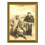 Imagen judía del vintage postal
