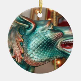 imagen justa del paseo principal del carrusel del ornamento para arbol de navidad