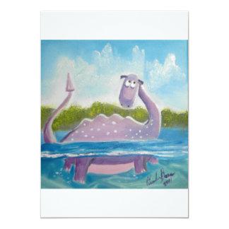 Imagen linda del monstruo de Loch Ness Comunicados Personales