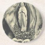 Imagen Lourdes, del vintage de la reproducción per Posavaso Para Bebida