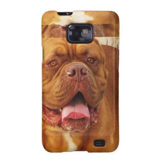 Imagen magnífica de Champion Dogue de Bordeaux Samsung Galaxy S2 Carcasa