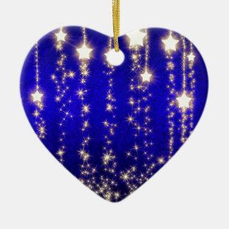 Imagen magnífica de la noche de la estrella del ornamentos de reyes magos