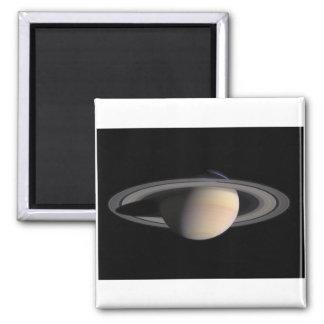 Imagen maravillosa de Saturn de la NASA Imán Cuadrado