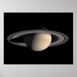 Imagen maravillosa de Saturn, de la NASA Póster