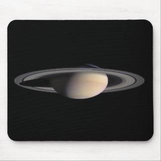 Imagen maravillosa de Saturn de la NASA Tapete De Ratón