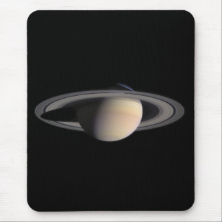 Imagen maravillosa de Saturn de la NASA Tapetes De Raton