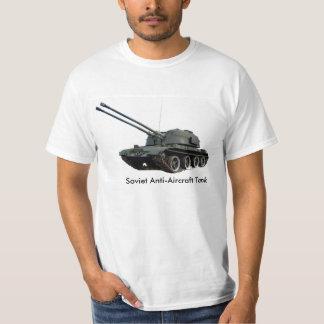 Imagen militar del tanque para la hombre-t-camisa poleras