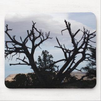 Imagen muerta del árbol tapetes de raton