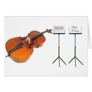 Imagen musical para la tarjeta de felicitación del