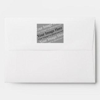 Imagen o plantilla de encargo del sobre del logoti