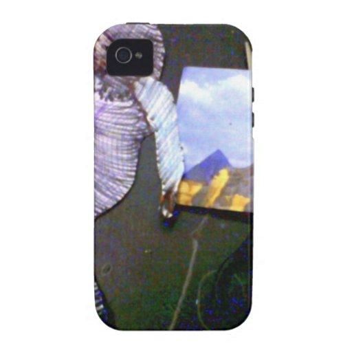 imagen olográfica proyectada de la máquina de tiem vibe iPhone 4 carcasa