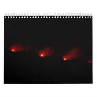 Imagen panorámica del cometa P: Calendarios De Pared