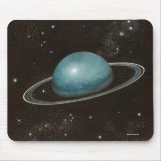 Imagen planetaria de Urano de la astronomía Mousepads