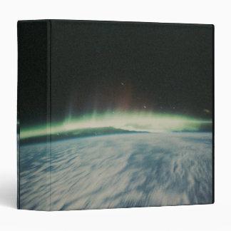 """Imagen por satélite de la aurora boreal carpeta 1 1/2"""""""