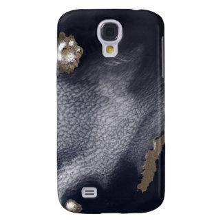 Imagen por satélite de la isla de Semisopochnoi Samsung Galaxy S4 Cover