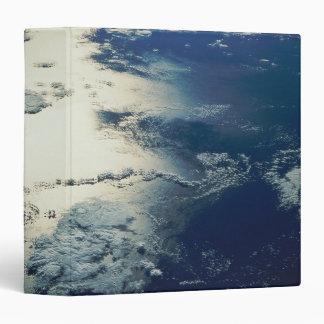 """Imagen por satélite de la luz del sol carpeta 1 1/2"""""""