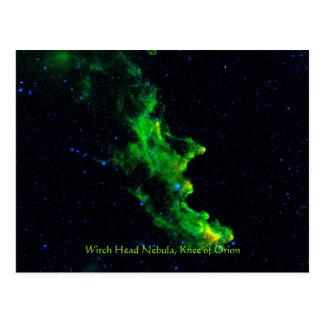 Imagen principal de la astronomía de espacio tarjeta postal