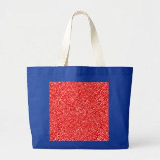 Imagen roja coralina de la grava bolsas