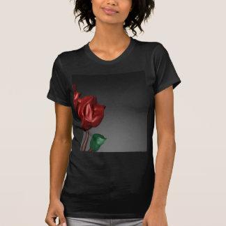 imagen romántica del arte de los rosas 3D Playera