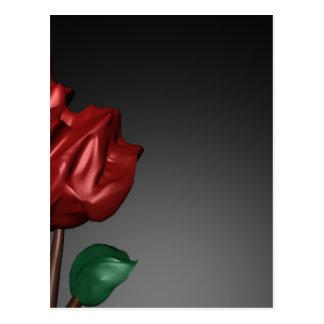 imagen romántica del arte de los rosas 3D Postales