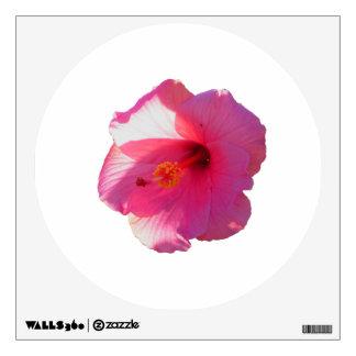 imagen rosada de la flor del hibisco