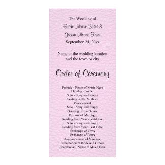 Imagen rosada del cuero, casando programa lonas