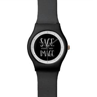 Imagen sabia de Comme Une - buena como refrán Reloj De Mano