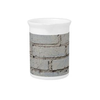 Imagen suave de un fondo de la pared de ladrillo jarrón