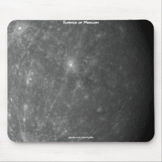 Imagen superficial de Mercury del planeta de la as Mousepads