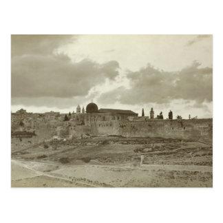 Imagen temprana de Jerusalén del sureste Postales