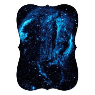 Imagen ultravioleta de la nebulosa del lazo del invitación 12,7 x 17,8 cm