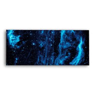 Imagen ultravioleta de la nebulosa del lazo del sobre