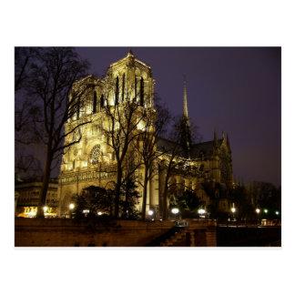 Imagen única de Notre Dame París Tarjeta Postal