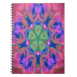 Imagen única del diseño del caleidoscopio cuaderno