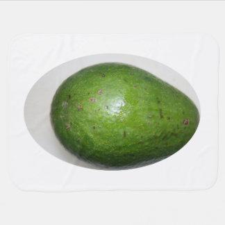 imagen verde grande de la fruta del avacado mantitas para bebé