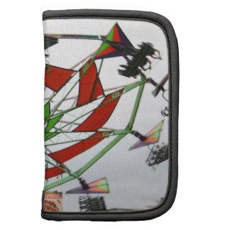 Imagen verde y roja del paseo del planeador justo  planificadores