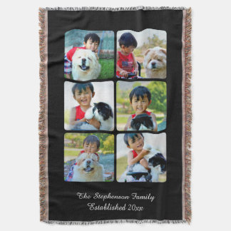 Imagen vertical del mosaico del collage de la foto manta
