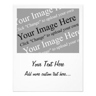 """Imagen y plantilla de encargo del texto para los a folleto 4.5"""" x 5.6"""""""
