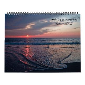 Imágenes 2013 del ojo del artista calendarios de pared