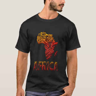 Imágenes africanas playera
