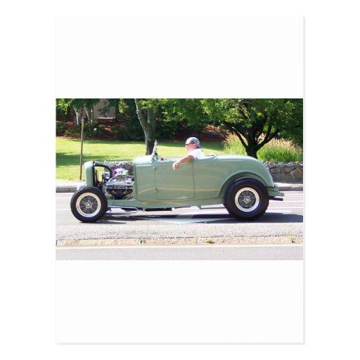 imágenes clásicas 8 del coche de los nacionales postales