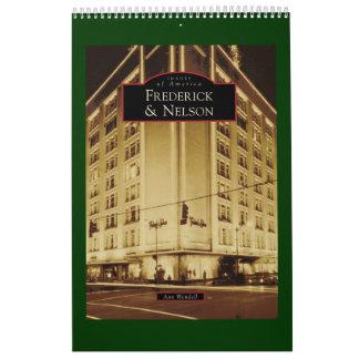 Imágenes de América: Frederick y Nelson Calendarios De Pared