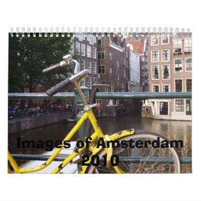 Imágenes de Amsterdam 2010 Calendario De Pared